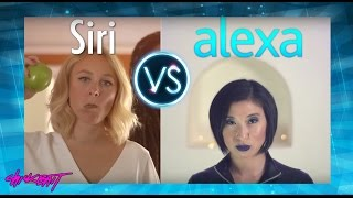 SIRI vs ALEXA - A.I. RAP BATTLE!!!!! thumbnail