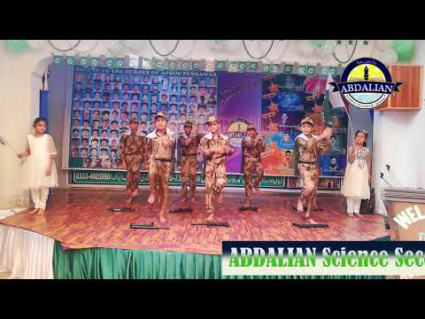 Kabhi Parcham Me Lipte Han | Tablo Performance | Abdalian Commandos