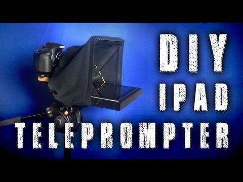 How To: DIY 15mm Rail Mount iPad (Tablet) Teleprompter