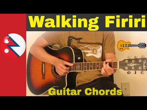 Walking Firiri - Guitar chords | Lesson | Strumming - YouTube