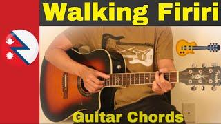 Walking Firiri -  Guitar chords   Lesson   Strumming