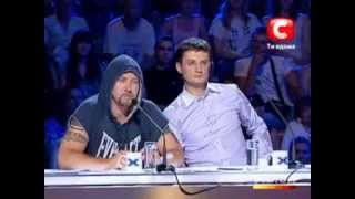 «The X-factor Ukraine» Season 1. Casting in Donetsk. part 1