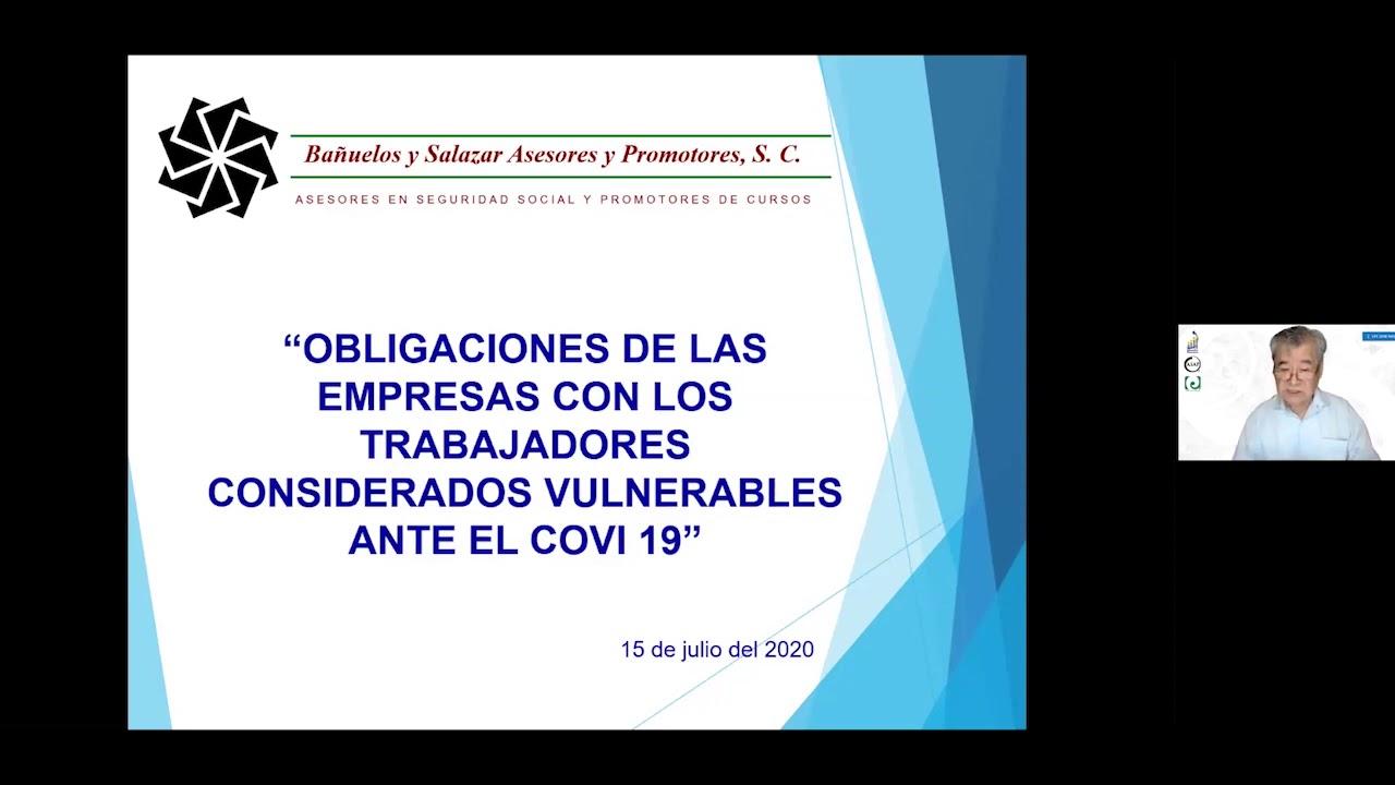 Obligaciones de las empresas con trabajadores considerados vulnerables
