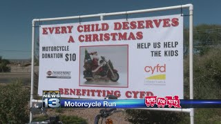 Toys for Tots campaign kicks off with motorcycle run