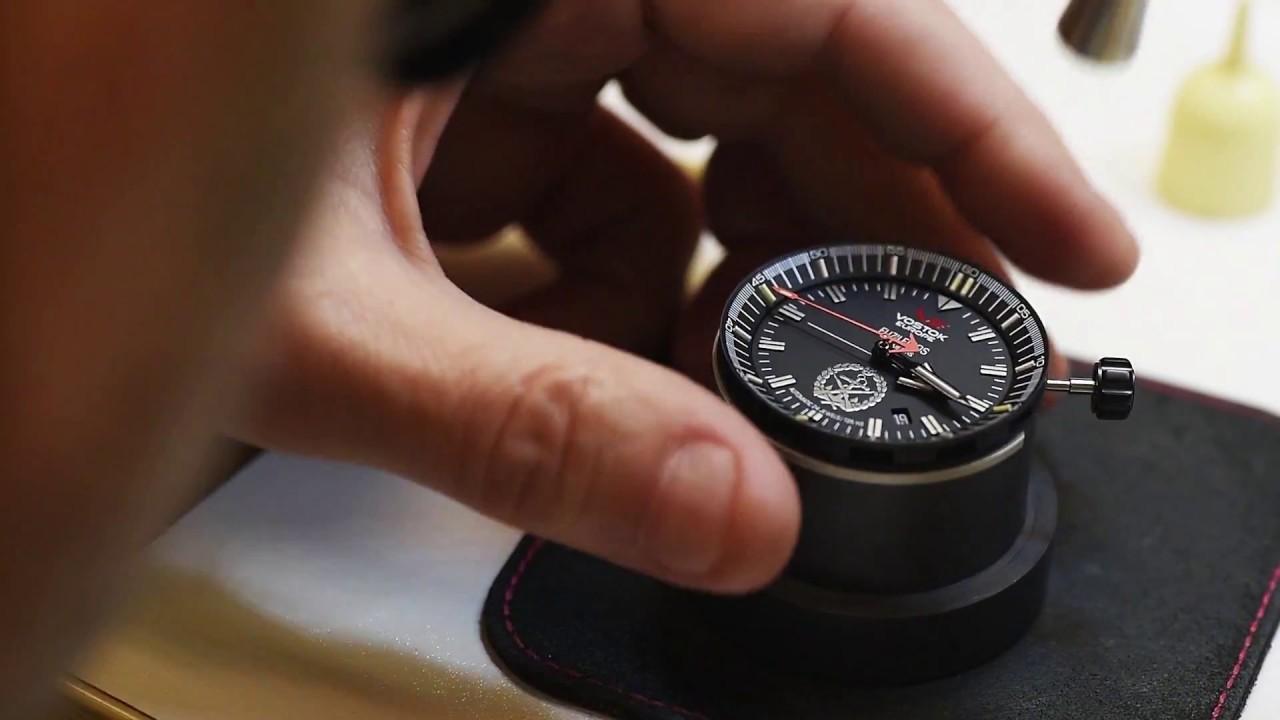 6983a80b6a8 Making of do relógio Vostok Europe Fuzileiros - YouTube