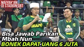 Download Mp3 Parikan Mbah Nun Tentang Persebaya, Maiyahan Di Stadion Gbt, Persebaya Vs Persis