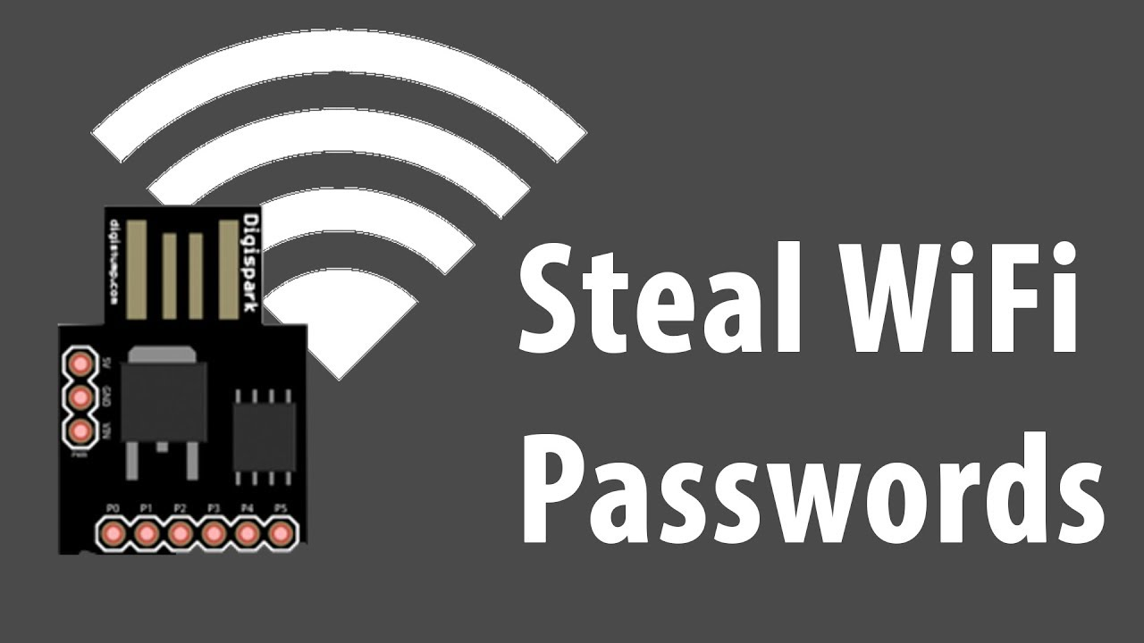 Steal WiFi Passwords with 1$ USB