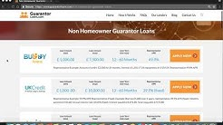 Non Homeowner Guarantor Loans - GuarantorLoans.com