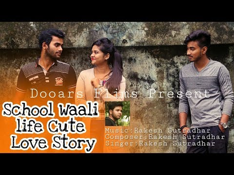 cute-school-love-story-video-|-sad-love-story-|-feat-rakesh-|-best-hindi-music-album-2018