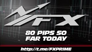👉☑️💥💯 [FOREX] 80 PIPS SO FAR TODAY  👈☑️💥💯 - #katchpicks #pipkillas #forex #trading #FXPRIME...