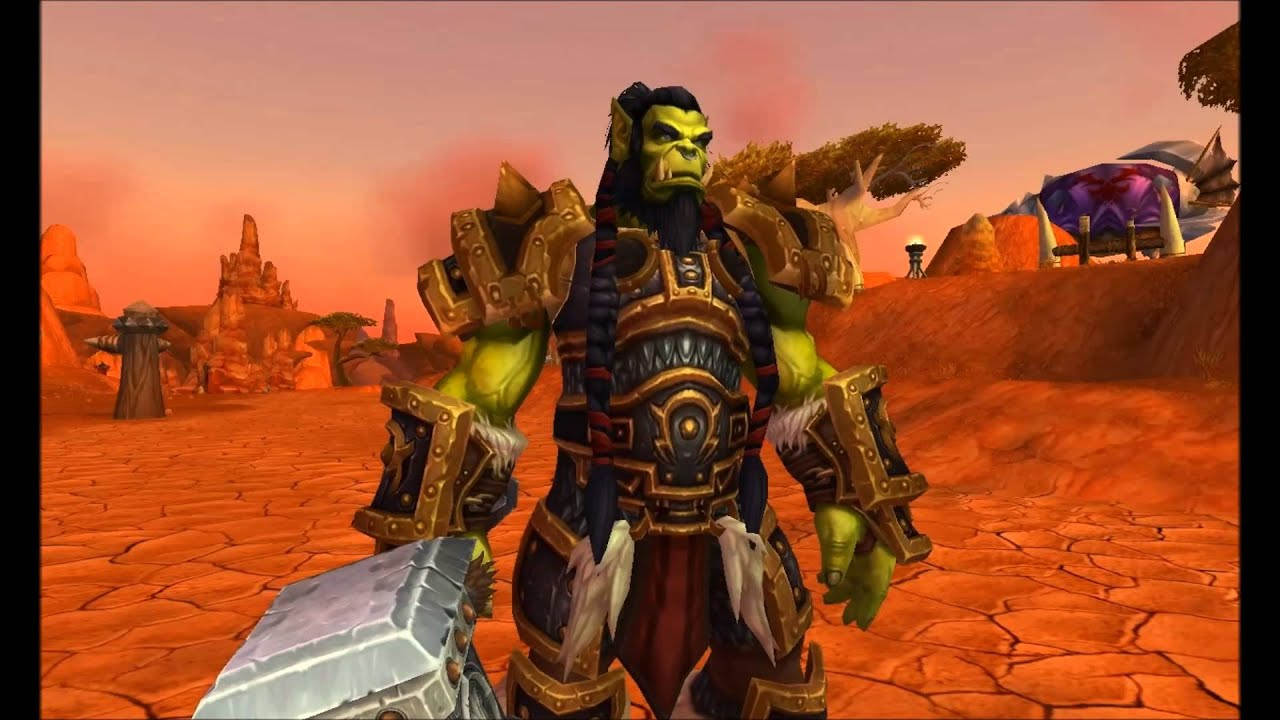 World of Warcraft - Warchief Thrall model