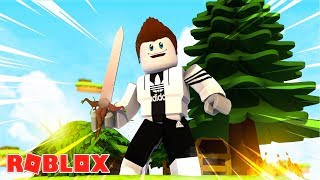 MINECRAFT SKYWARS IN ROBLOX!