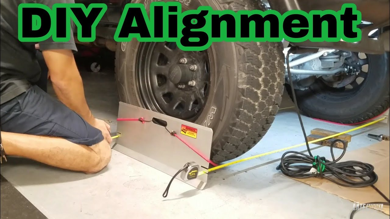 How To Front End Alignment Diy Jeep Xj Cherokee Tj Jk Wrangler Youtube