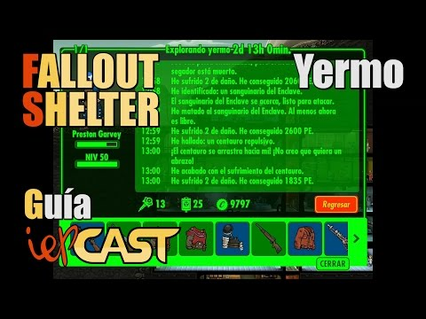 FALLOUT SHELTER - Guía Del Yermo