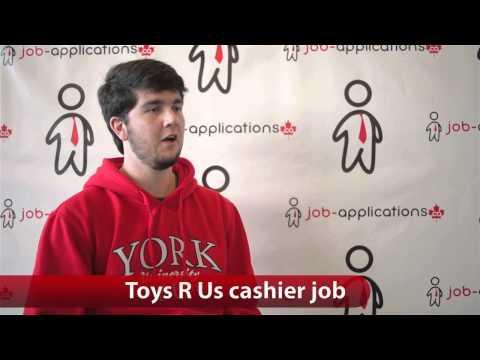 Toys R Us Cashier Job