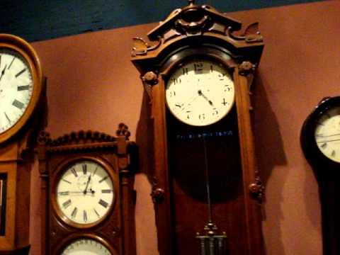 B O Railroad Museum Clock Collection