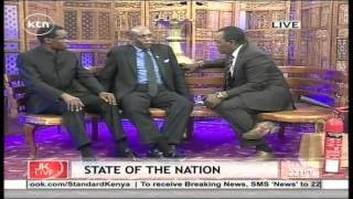 Jeff Koinange Live with Barrack Muluka & PLO Lumumba (Report Card on the State Of The Nation) part 3