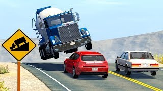 Realistic High Speed Crashes - BeamNG Drive