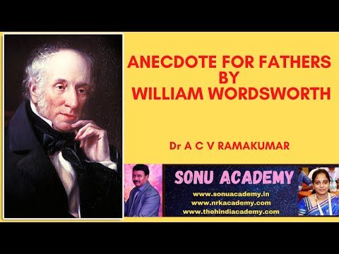 anecdote for fathers analysis