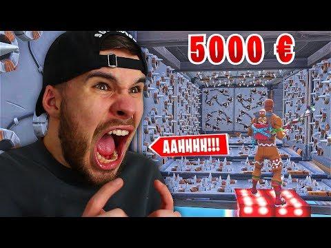 Der 5000€ MontanaBlack Fortnite DEATHRUN..