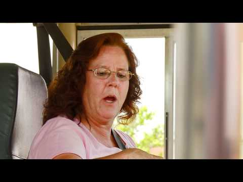 Hero Bus Driver Saves Little Girl's Life