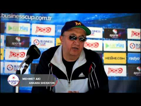 Ankara Sheraton Maç Sonrası Business Cup 2015