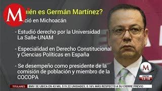 ¿Quién es Germán Martínez?
