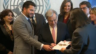 UN Secretary-General receives report of High Level Panel on Water