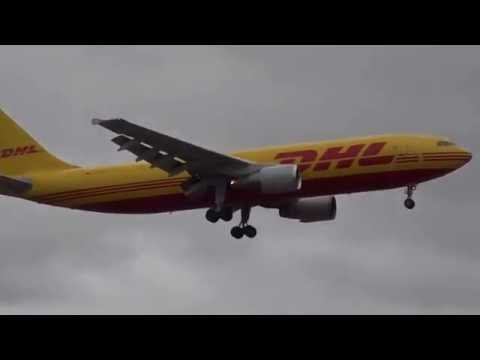 A300 Landing at Heathrow Airport
