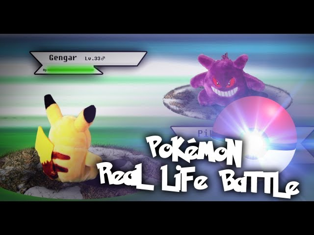 Pokemon real life battle!