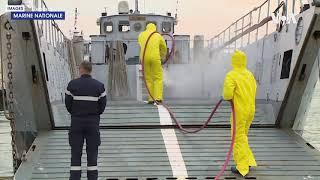 法国戴高乐航母668人新冠检测呈阳性