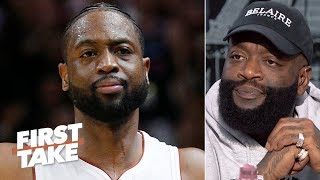 Rick Ross: Dwyane Wade is more important to Miami than LeBron | First Take