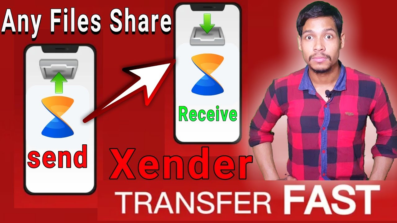 Share Music & Transfer Files – Xender best  file share Android app 2019 /Aaura Technical