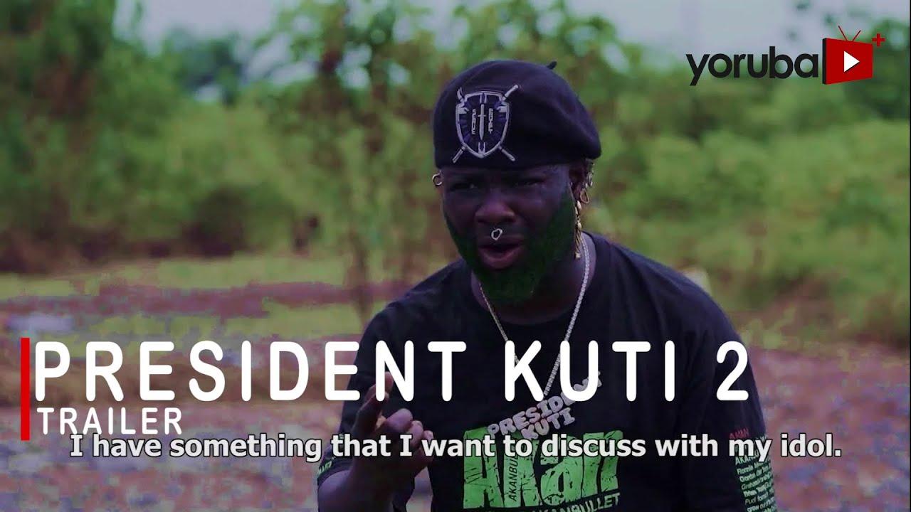 Download Ibrahim Yekini Faced A Dangerous Saga With Ibrahim Chatta - President Kuti 2 Yoruba Movie