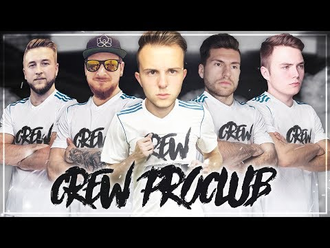KOMPLETTE ESKALATION mit der Crew 😂😂 FIFA 17 Crew Pro Clubs #1