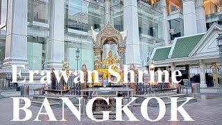 The Four Faced Brahma Erawan Shrine near Central World - Bangkok Trip Part 17