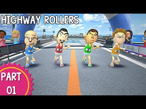 Wii Party U - Episode 01: Highway Rollers (Part 1/2)