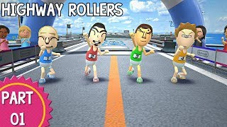 Wii Party U - Episode 01: Highway Rollers (Part 1/2)