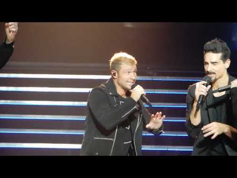 Backstreet Boys ~ Chances ~ Zappos Theater ~ Las Vegas, NV ~ 11/10/18