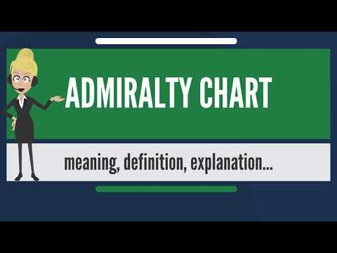 What is ADMIRALTY CHART? What does ADMIRALTY CHART mean? ADMIRALTY CHART meaning & explanation