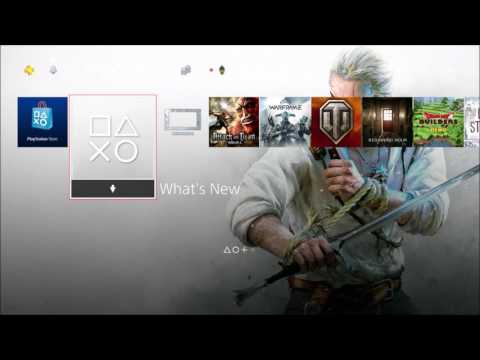 PS4 Tutorial: How to Change the Background Theme on the Home Screen