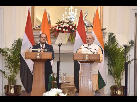 Join statement by PM Narendra Modi and Egyptian President Abdel Fattah el-Sisi