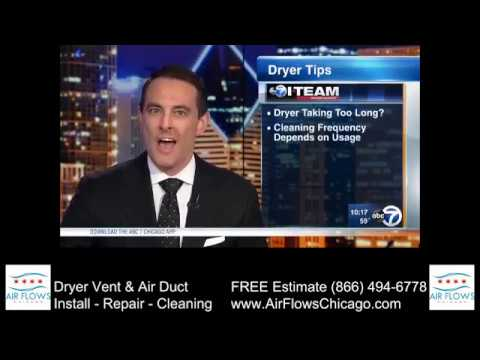 How to clean a dryer vent Air Flows Chicago ABC 7