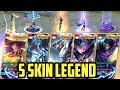 5 SKIN LEGEND By 5 HARAPAN BANGSA INDONESIA!! 🇮🇩 - Mobile Legends