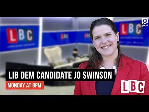 Iain Dale Interviews The Lib Dem Leadership Candidates: Jo Swinson - LBC