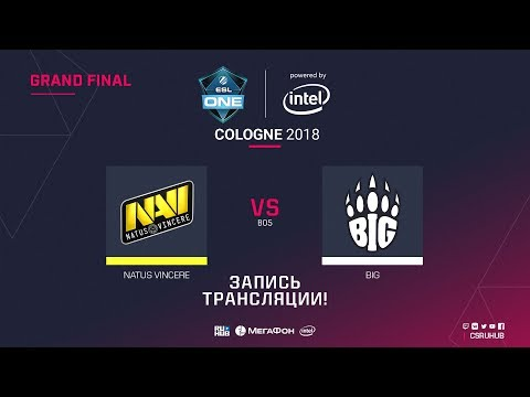 Navi vs BIG - ESL ONE Cologne 2018 - Map  2
