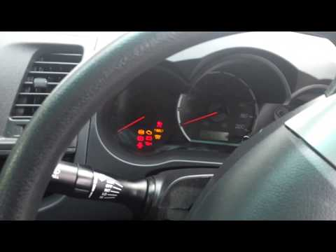 Toyota D4D how to clear fuel light