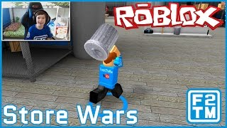 Roblox Store Wars (TAKING OUT THE TRASH!!!)