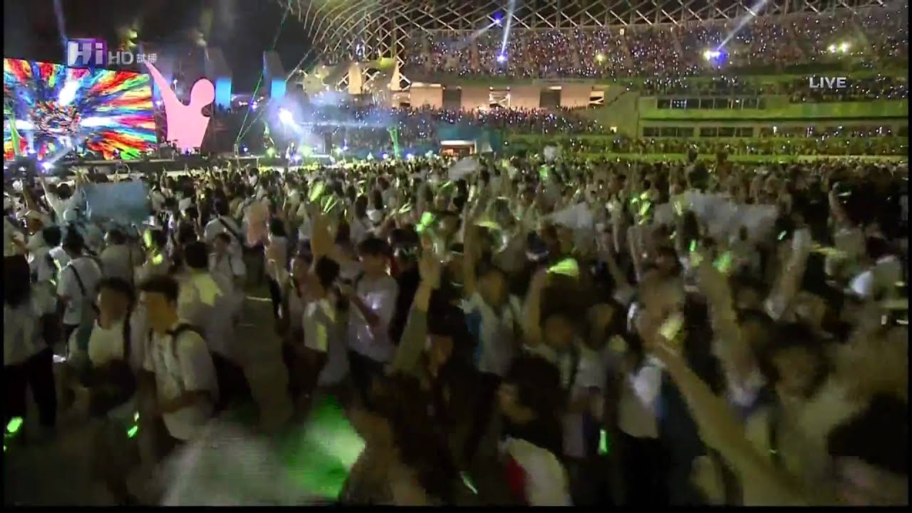 20090726 高雄世運閉幕HD超高畫質伍佰「墓仔埔也敢去」 - YouTube