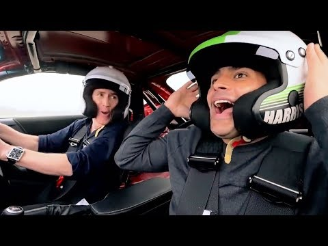 Chris Harris and Rob Brydon Lap   Top Gear: Series 25